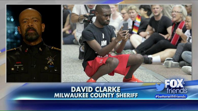 Sheriff Clarke reacts to Black Lives Matter leader Deray Mckesson running for Baltimore Mayor.