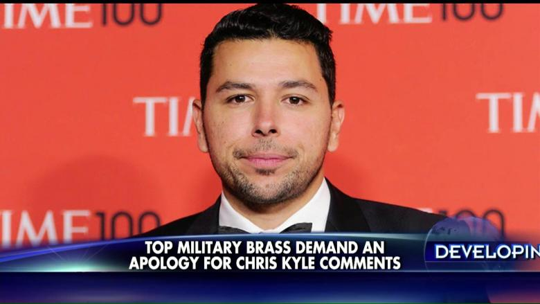 Members seek apology for nbc news correspondent s chris kyle comments