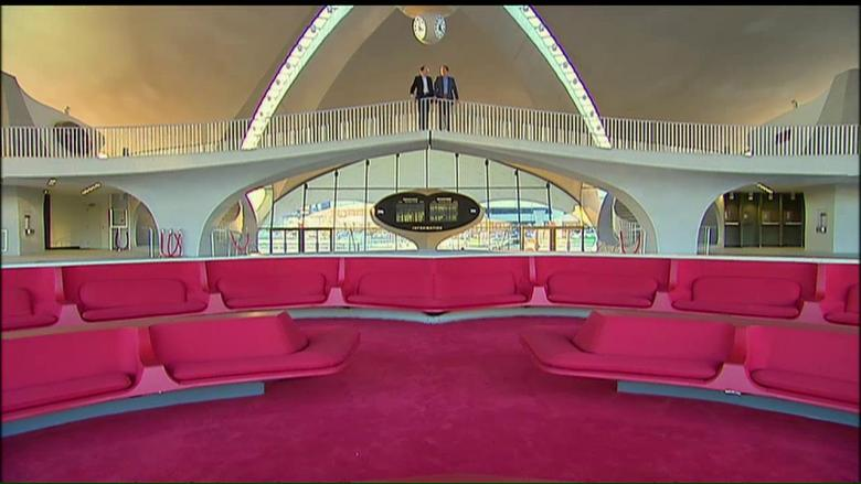Inside jfk 39 s long abandoned twa terminal which will soon for Jfk airport hotel inside terminal