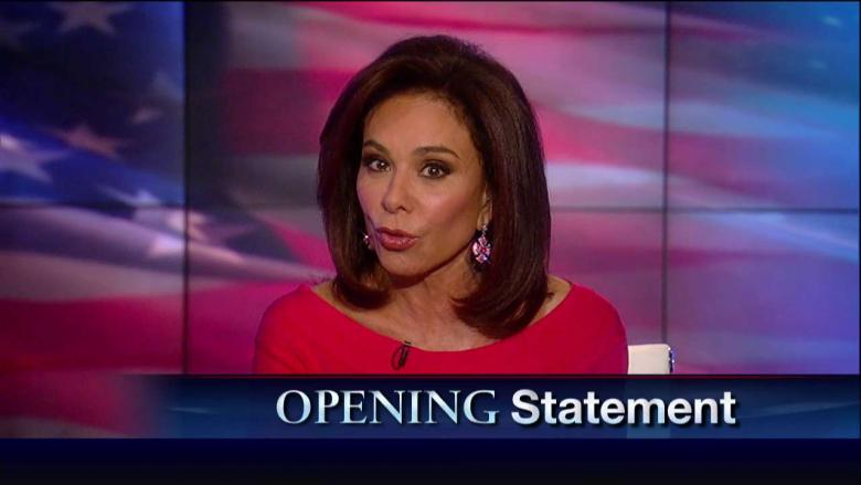 Judge Jeanine: 'Two Documented Liars' Could Start Running the Country, Hillary and Elizabeth