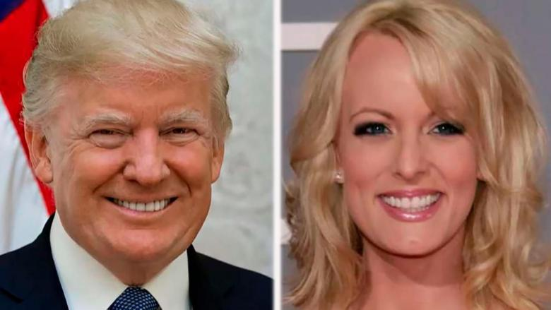 Stormy Daniels claimed she agreed to keep quiet about her alleged affair with President Trump after she received a chilling threat in a parking lot.