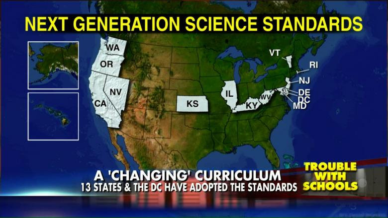 Climate Change Indoctrination 13 States Adopt Common Core Science
