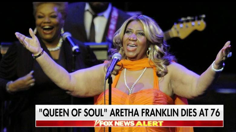 Legendary Soul Singer Aretha Franklin Dead at 76