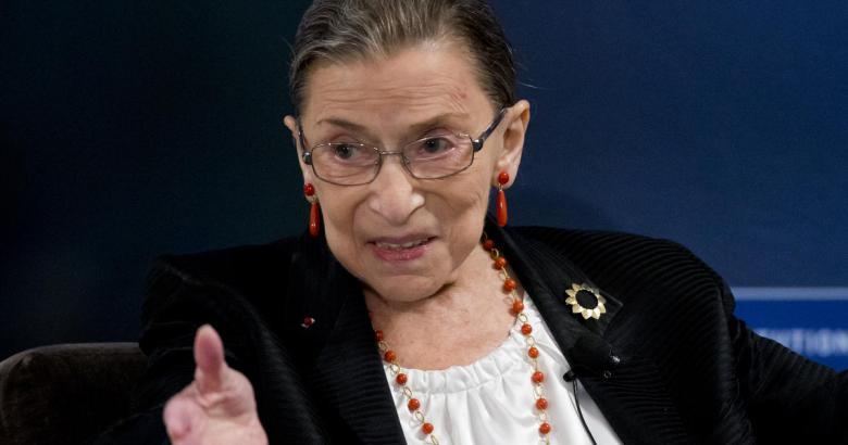 Ginsburg talks partisan rancor, Electoral College and kale
