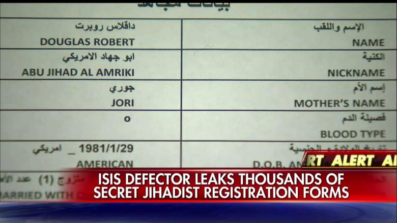 Jihadist Application Forms  Leaked Docs Reveal Ids Of Isis