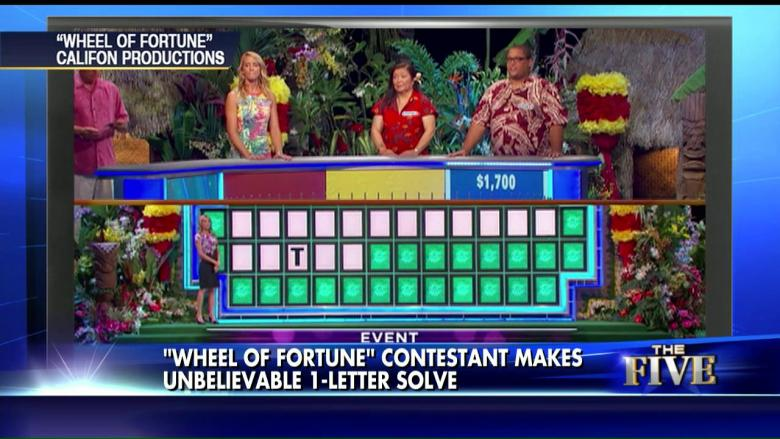 This 'Wheel of Fortune' Contestant's 1 Letter Solve Will Amaze You