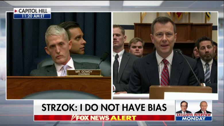 WATCH - 'I Don't Give a Damn What You Appreciate': Gowdy in Heated Clash With Peter Strzok