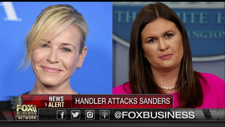 Trish Regan Rips 'Feminist' Chelsea Handler for Calling Sanders 'Dressed-Up' 'Harlot'