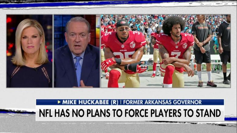 Huckabee: 'Pathetic' Goodell 'Acted Like Parent Telling Players to Eat Their Vegetables'