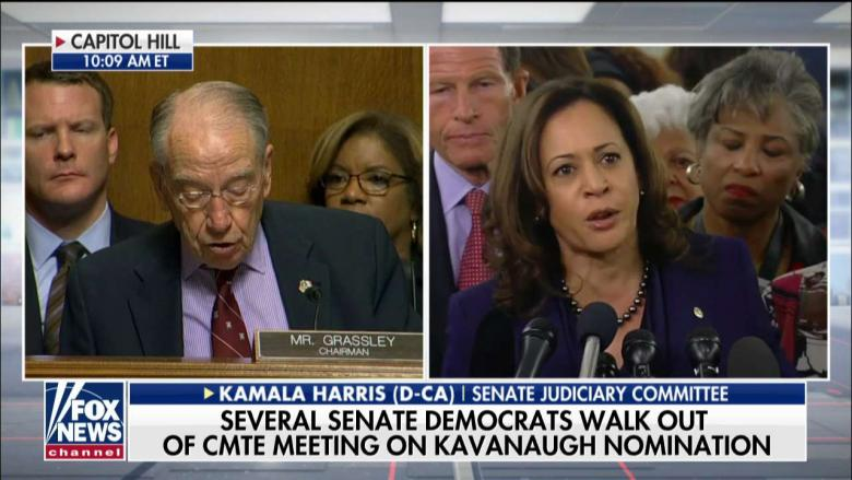 Ingraham on Dems Walking Out of Kavanaugh Hearing: They're Whipping the Base Into a 'Frenzy'
