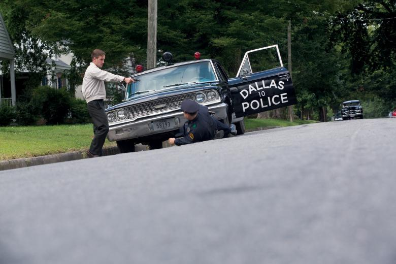 Behind-the-scenes 'Killing Kennedy' photo