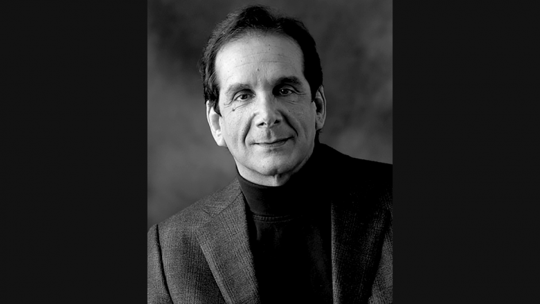 Conservative writer Charles Krauthammer dies at 68