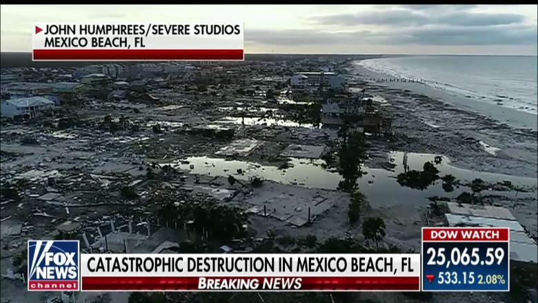 'Nothing Left': Devastating Drone Footage Shows Mexico Beach, FL After Hurricane Michael