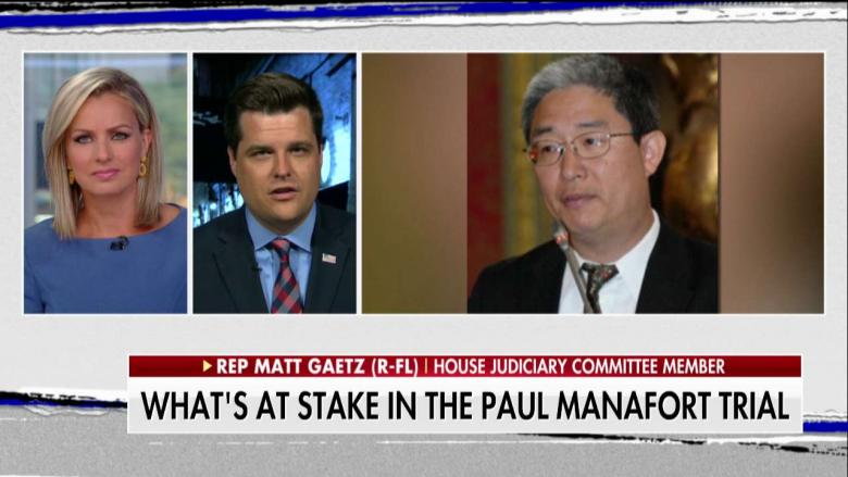 Gaetz: The Ohrs Were the 'Bonnie and Clyde of Collusion', Manafort Case Unimportant