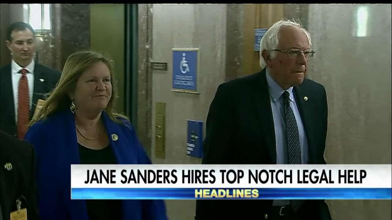 Jane Sanders Snags Top Lawyers to Defend Against FBI's Bank Fraud Charges