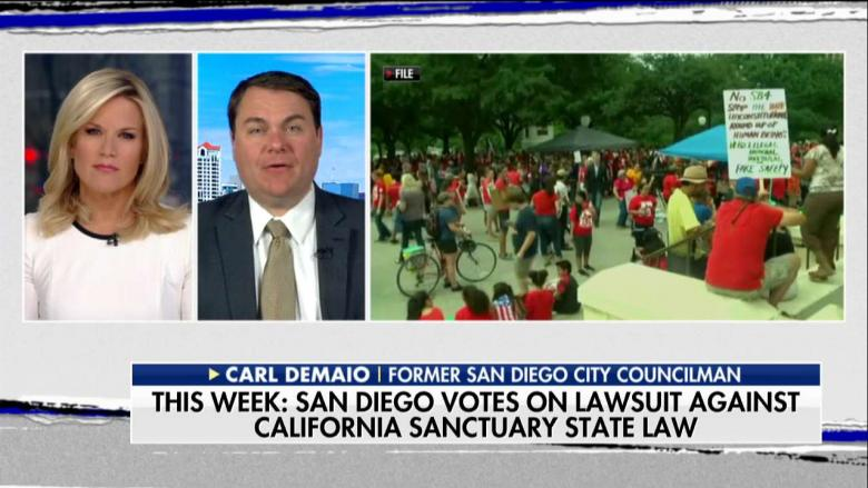 San Diego Votes on Rejecting Jerry Brown's Sanctuary State Policy