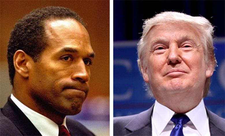 Image result for john kerry oj simpson donald trump