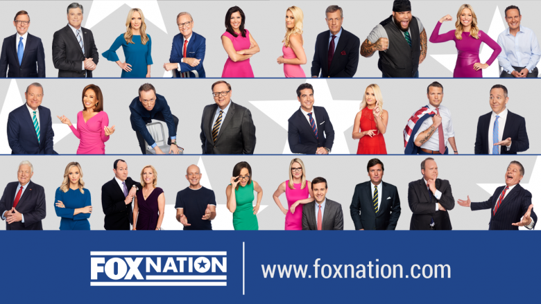 Fox News Channel primetime stars Sean Hannity, Laura Ingraham, Tucker Carlson and many more will be featured in exclusive content on new streaming platform Fox Nation.