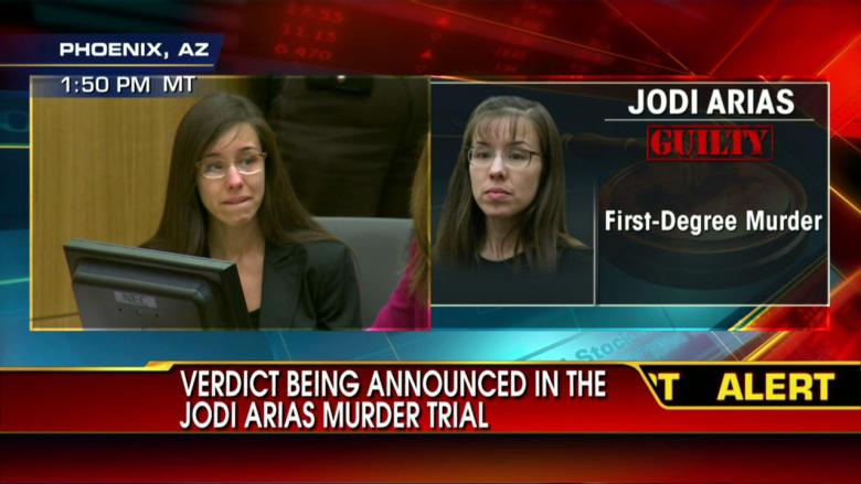 GUILTY: Jodi Arias Convicted of First-Degree Murder
