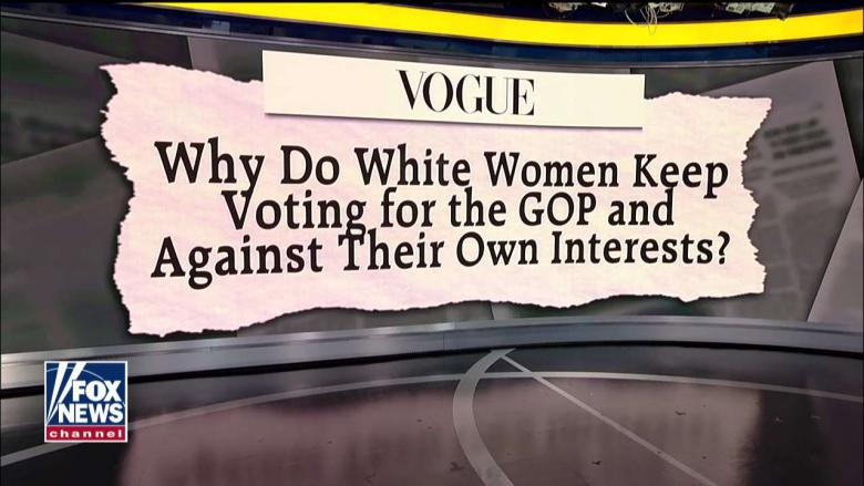 'Unsisterly': Vogue Asks Why White Women Keep Voting for GOP, 'Against Their Own Interests'