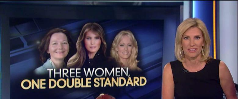 'Three Women, One Double Standard': Ingraham Rips Press Coverage of  Melania, Stormy and CIA Pick
