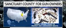 Effingham County, Illinois, on Monday became a 'sanctuary county' for gun owners.