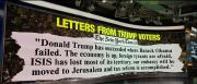 The New York Times on Thursday replaced its normal editorial page with letters from voters who supported President Trump in the 2016 election.
