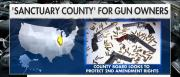 "Effingham County, Illinois, on Monday became a ""sanctuary county"" for gun owners."