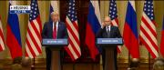 President Donald Trump and Russian President Vladimir Putin held a joint press conference Monday following a historic bilateral meeting in Helsinki, Finland.