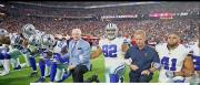 Dallas Cowboys owner Jerry Jones said the team's players must stand on the sidelines for the national anthem this upcoming NFL season.
